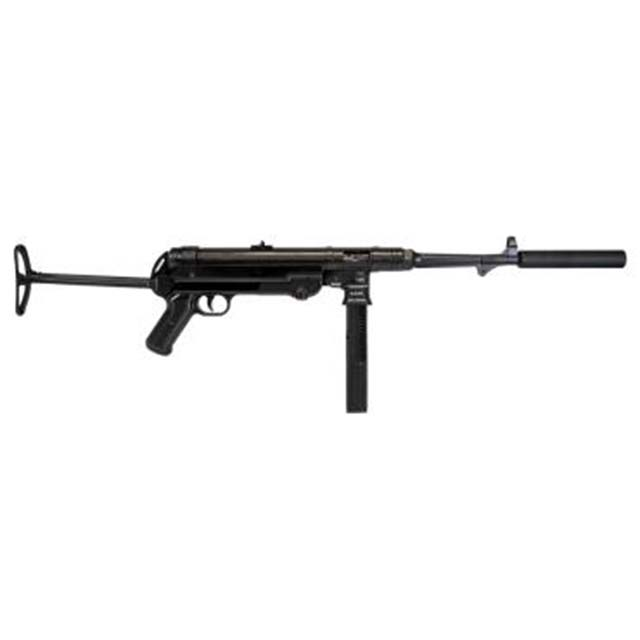"GERMAN SPORT GUNS MP40 USED RIA CARBINE 16"" BBL22LR 23RD  W SUPPRESSOR FAKE"