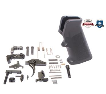 SAF-T-First AR-15 COMPLETE LOWER PARTS KIT WITH NANO COMPOSITE PARTS