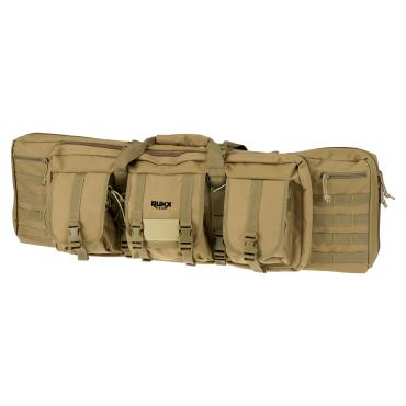"ATI Rukx Gear 36"" Tactical Double Gun Case Tan"